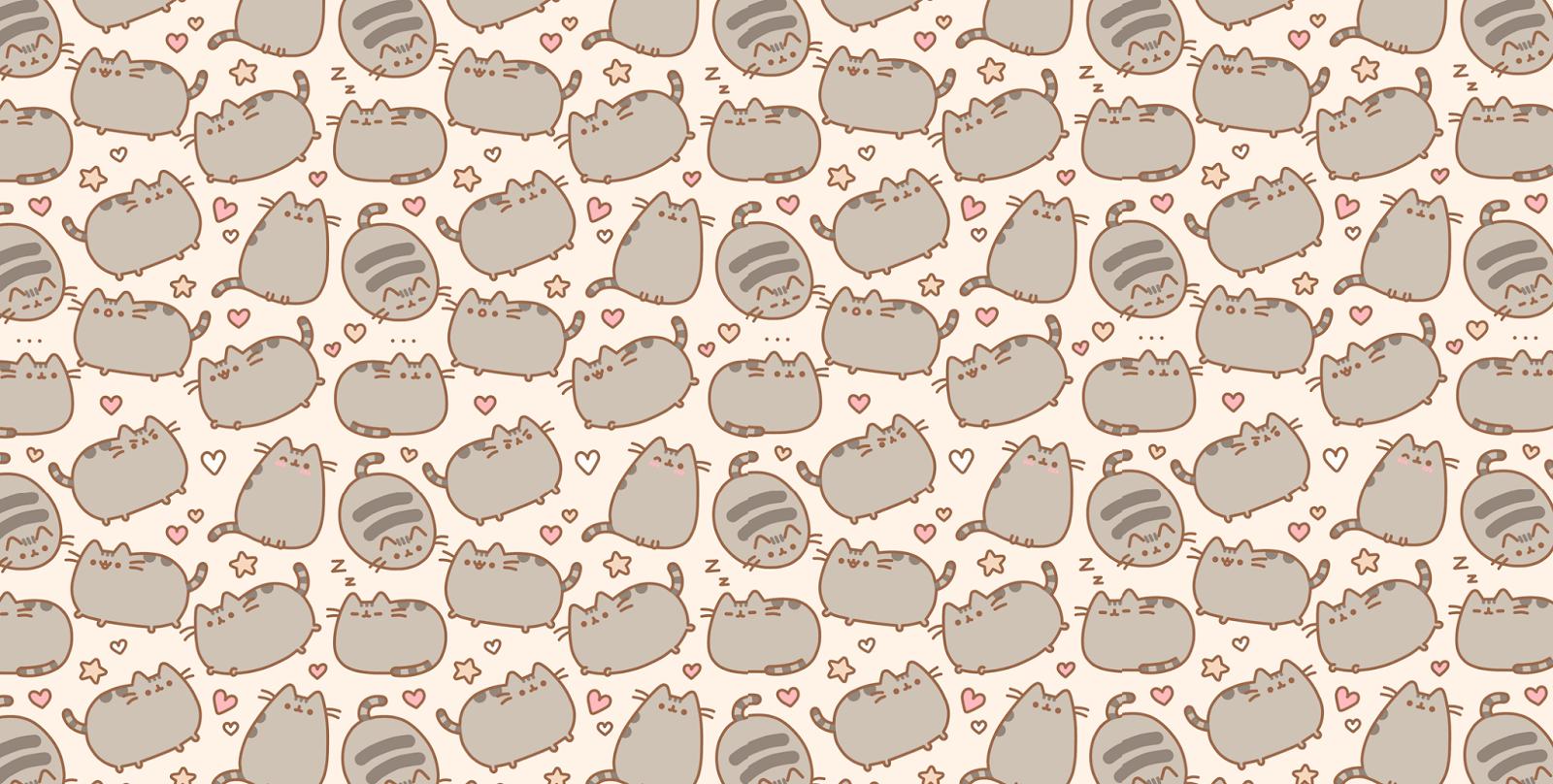 Pusheen Cat Desktop Wallpaper (With images) Cat