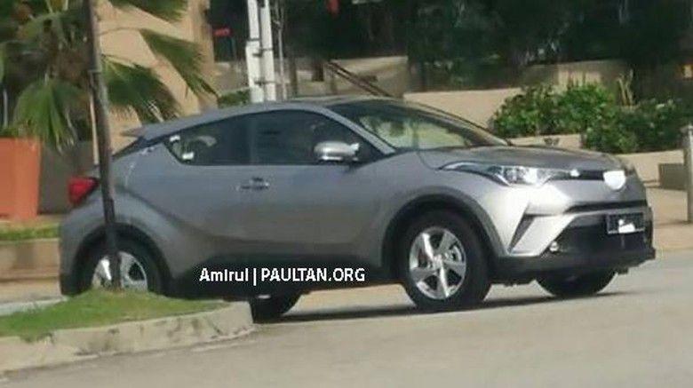 Toyota C-HR Muncul di Jalanan Kota Malaysia  http://www.bali-toyota.com/toyota-c-hr-muncul-di-jalanan-kota-malaysia/