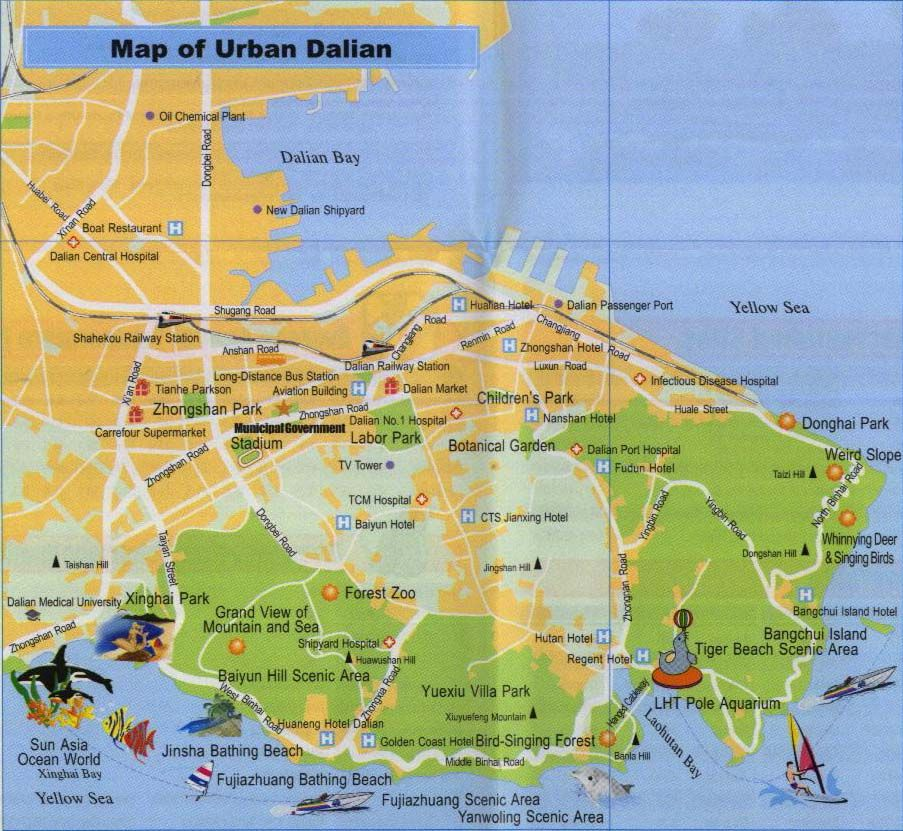dalian china More Dalian Maps Travel ideas Pinterest China