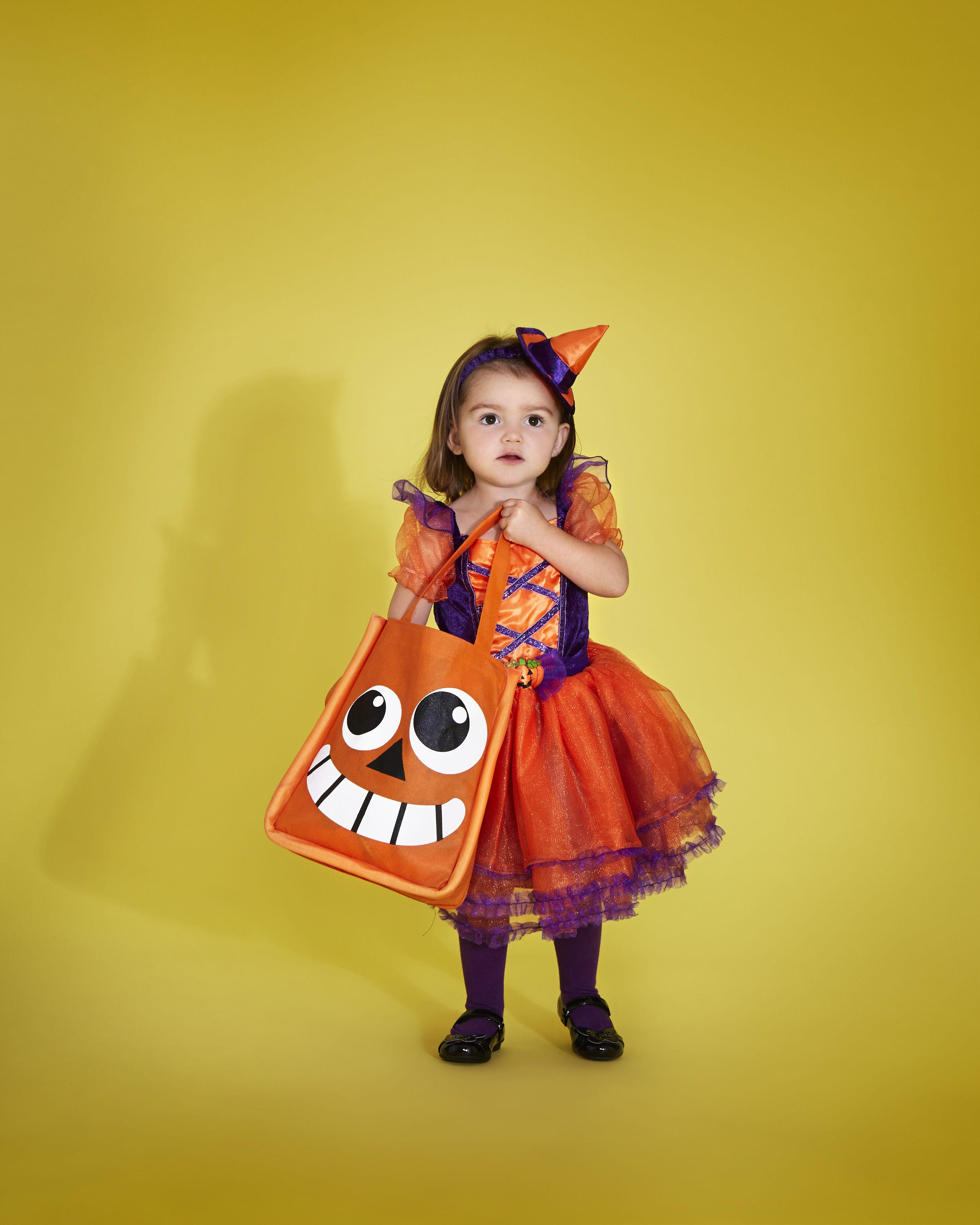 GIRLS PUMPKIN TUTU DRESS FANCY DRESS COSTUME CHILDS HALLOWEEN TRICK TREAT OUTFIT