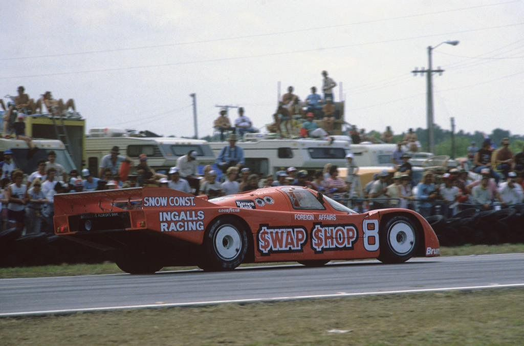 AJ Foyt (pic)/Bob Wollek, Preston Henn Porsche 962