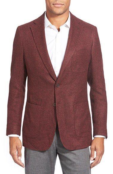 Peter Millar Textured Two-Button Blazer