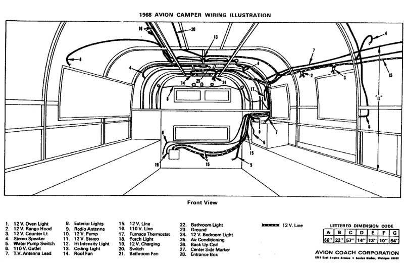 vintage airstream wiring diagram