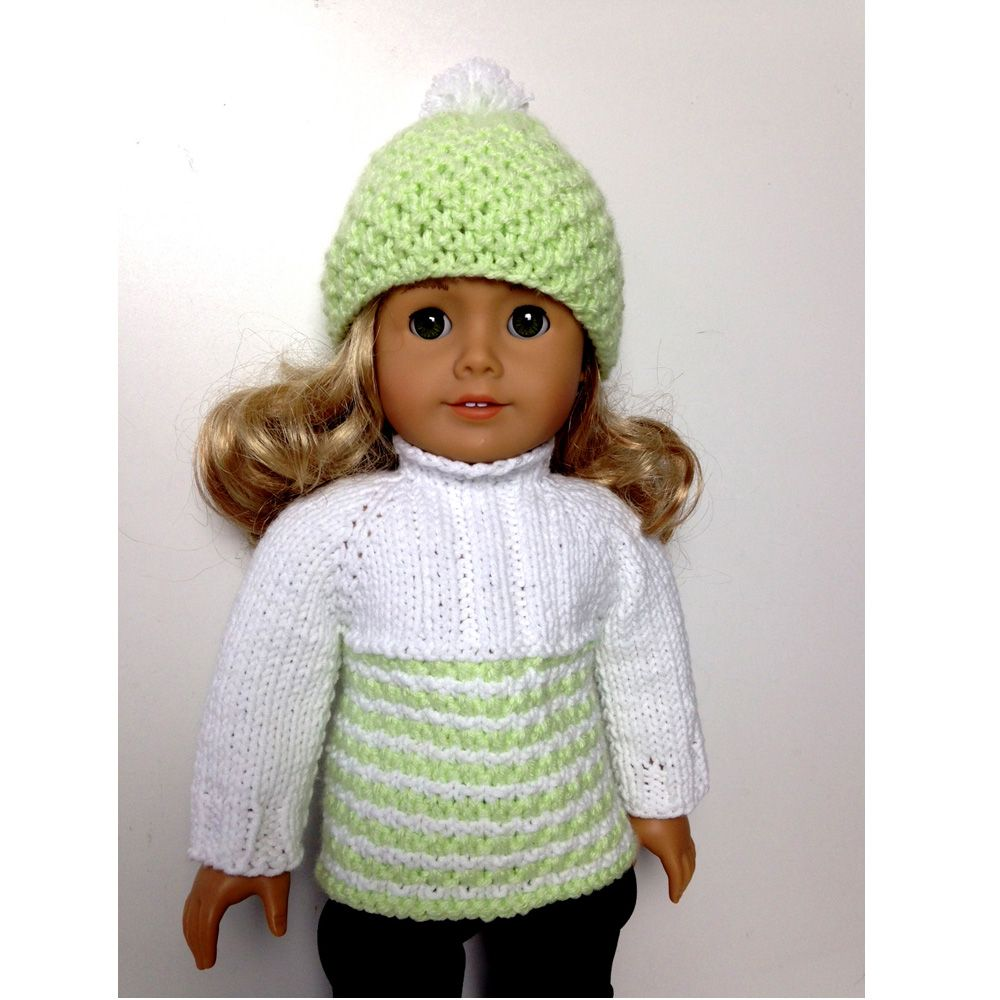 Dorable Knitting Pattern For American Girl Doll Component - Sewing ...