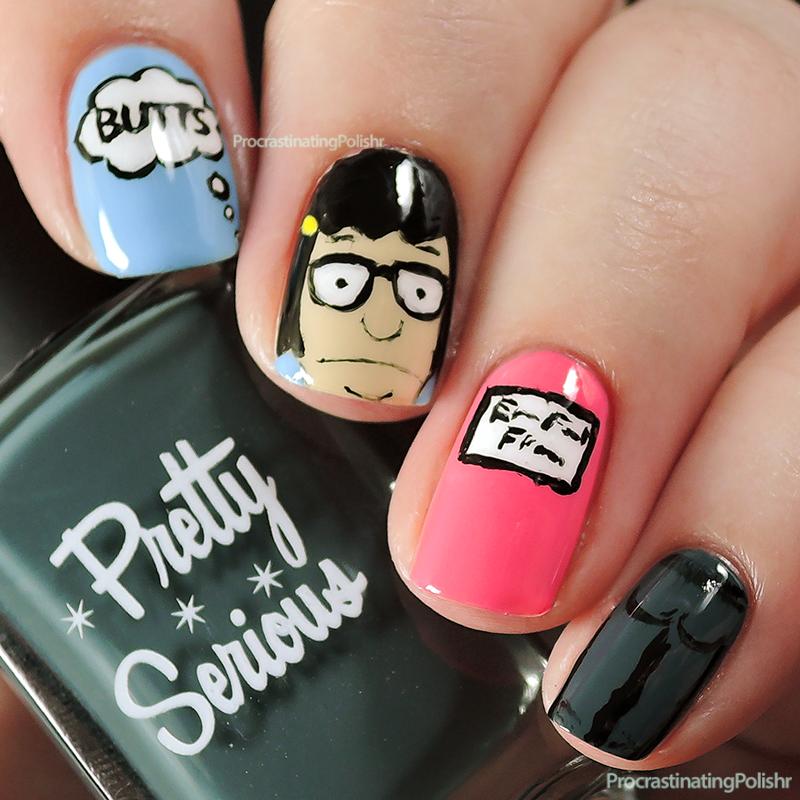 Tina belcher bobs burgers nail art nail addiction pinterest tina belcher bobs burgers nail art prinsesfo Gallery