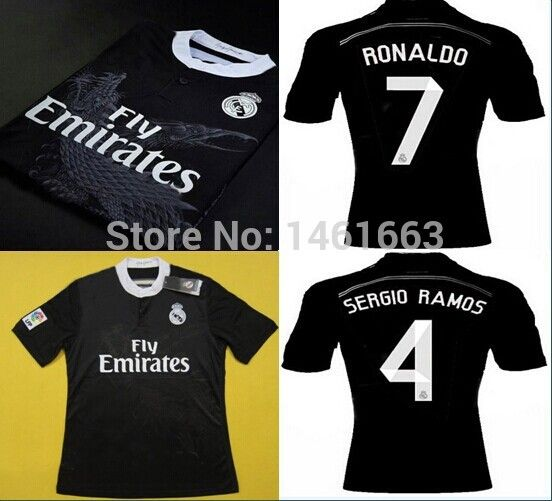 Find More Sports Jerseys Information about Top thai Real Madrid 2015 Soccer  Jerseys Football Cristiano Ronaldo