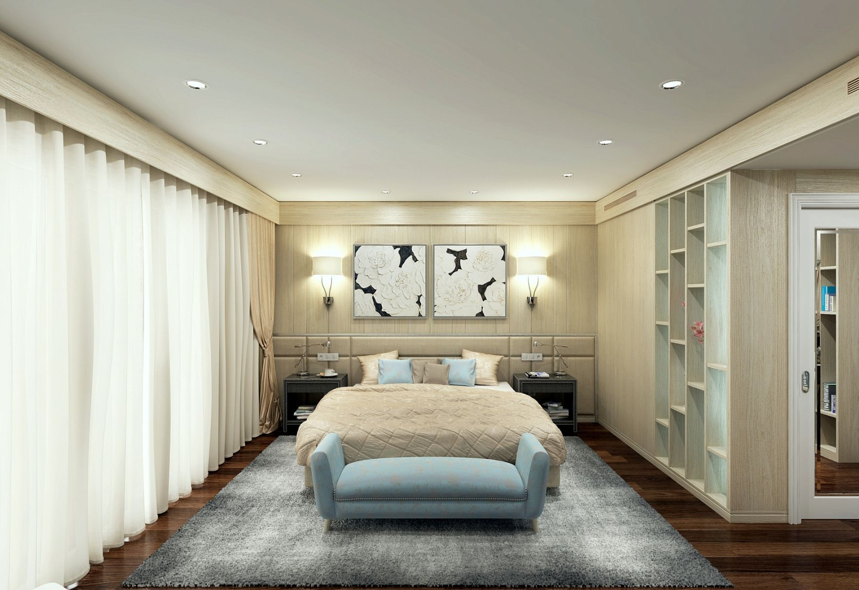 Design Of Master Bedroom Interior For Private House In Castelldefels 08860 Barcelona Spain Alexander