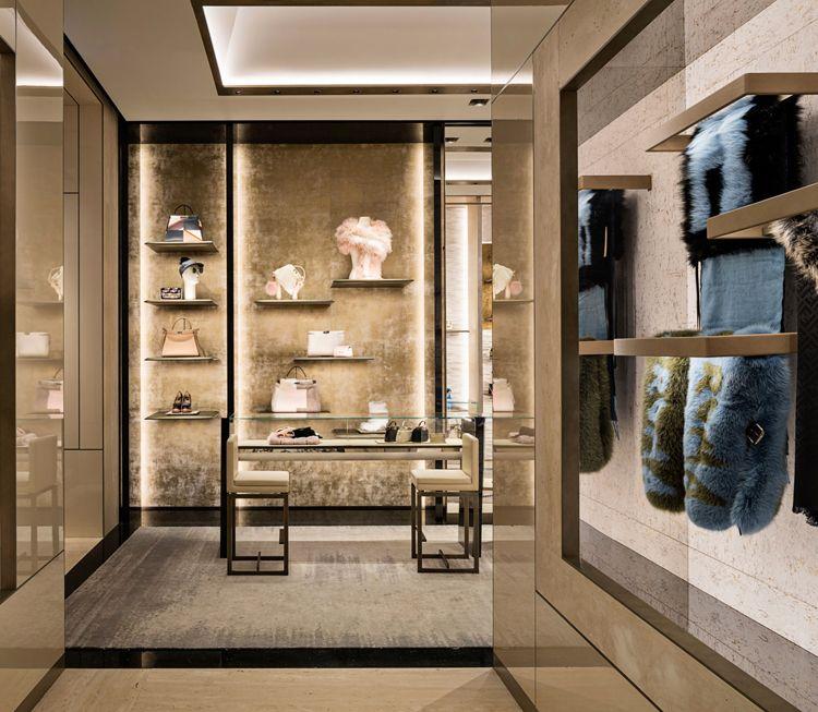 Fendi Flagship Store In Rome Restored Interior Interior