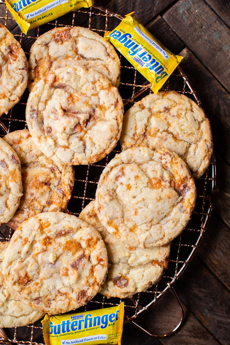 Butterfinger Cookies – Vintage Recipe Tin