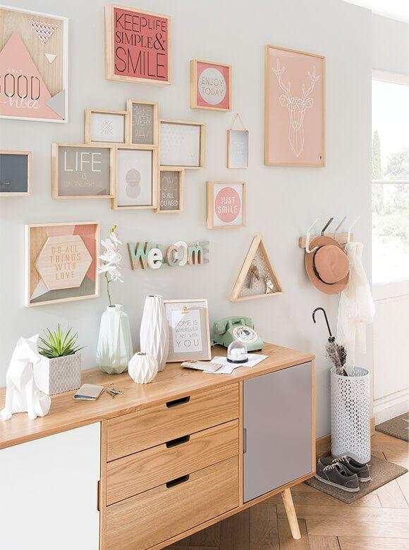 maison du monde pele mele composicin de cuadros maisons du monde with maison du monde pele mele. Black Bedroom Furniture Sets. Home Design Ideas