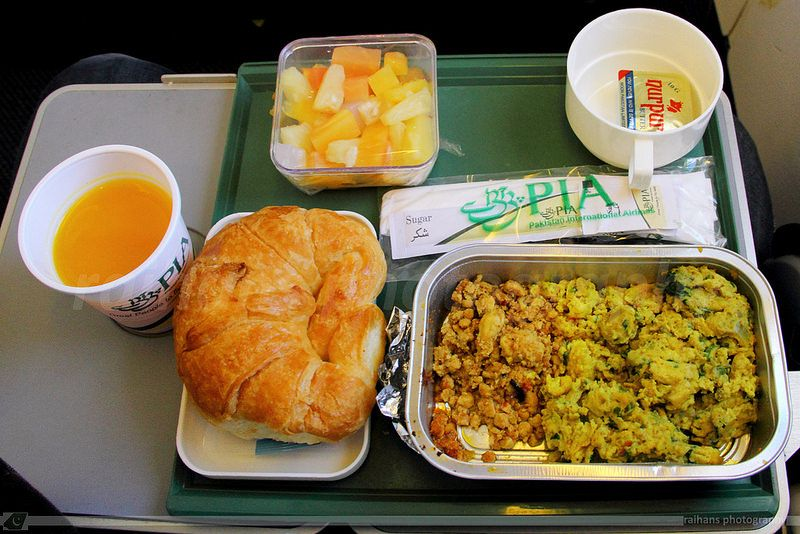 Inflight Meal Pia Economy Class Breakfast Airline Food In Flight Meal Food