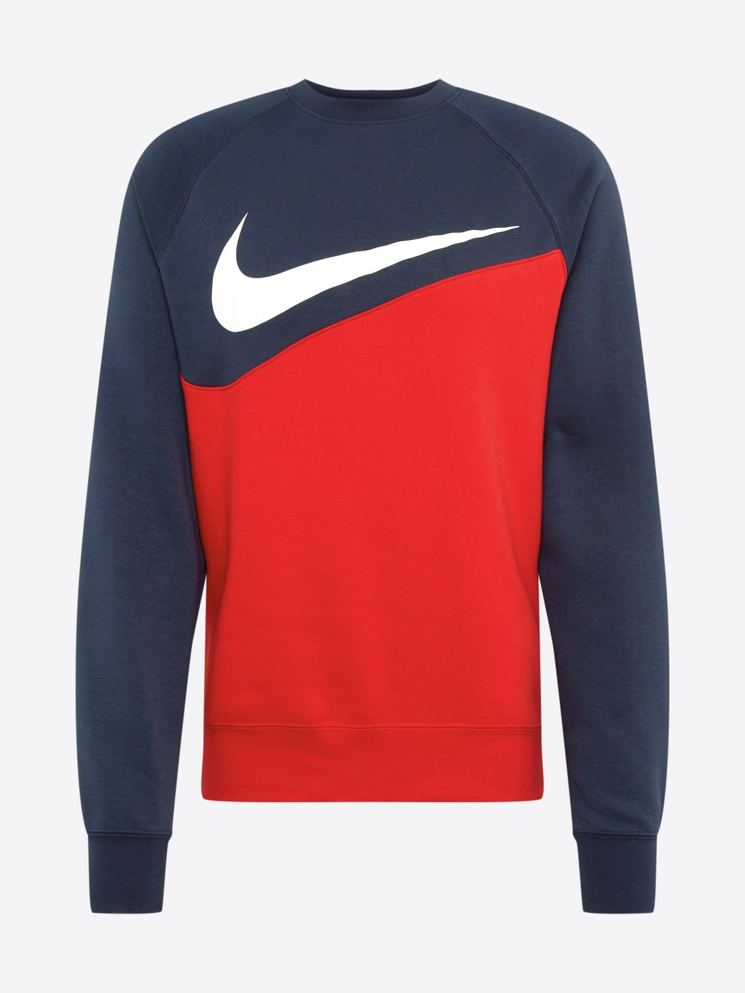 Nike Sportswear Sweatshirt 'SWOOSH' Herren, Navy Rot