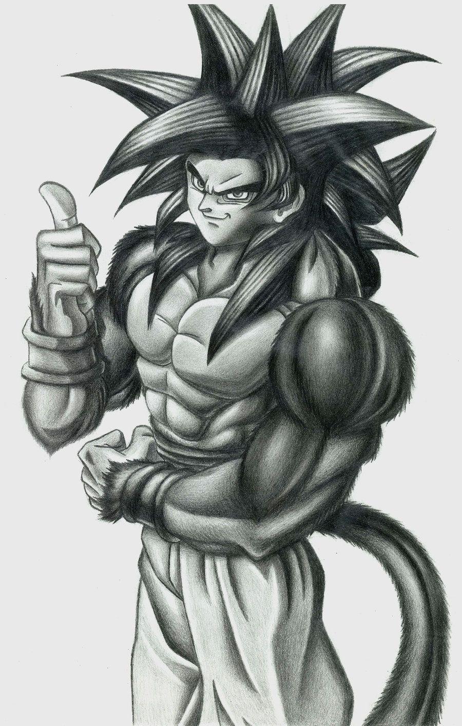 Pin De Pablo Arceles Silva En Dragon Ball Goku A Lapiz Imagenes De Goku Dibujo De Goku
