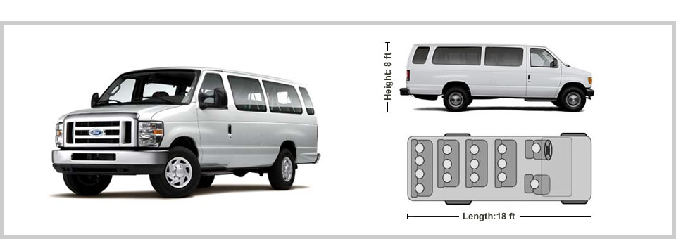 Lovely Ford E350 / Interior Layout #missionrentavan