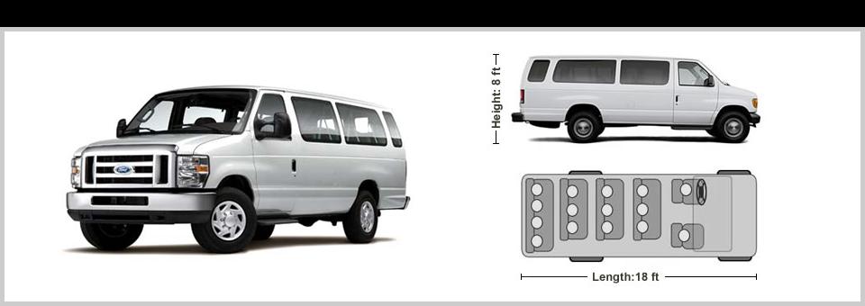 15 Passenger Van Rentals 15 Passenger Van 4x4 Van Van