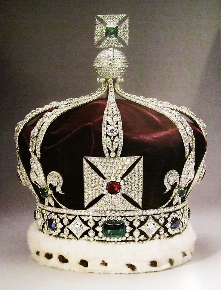 Imperial Crown of India: Worn only once by and made for George V ...