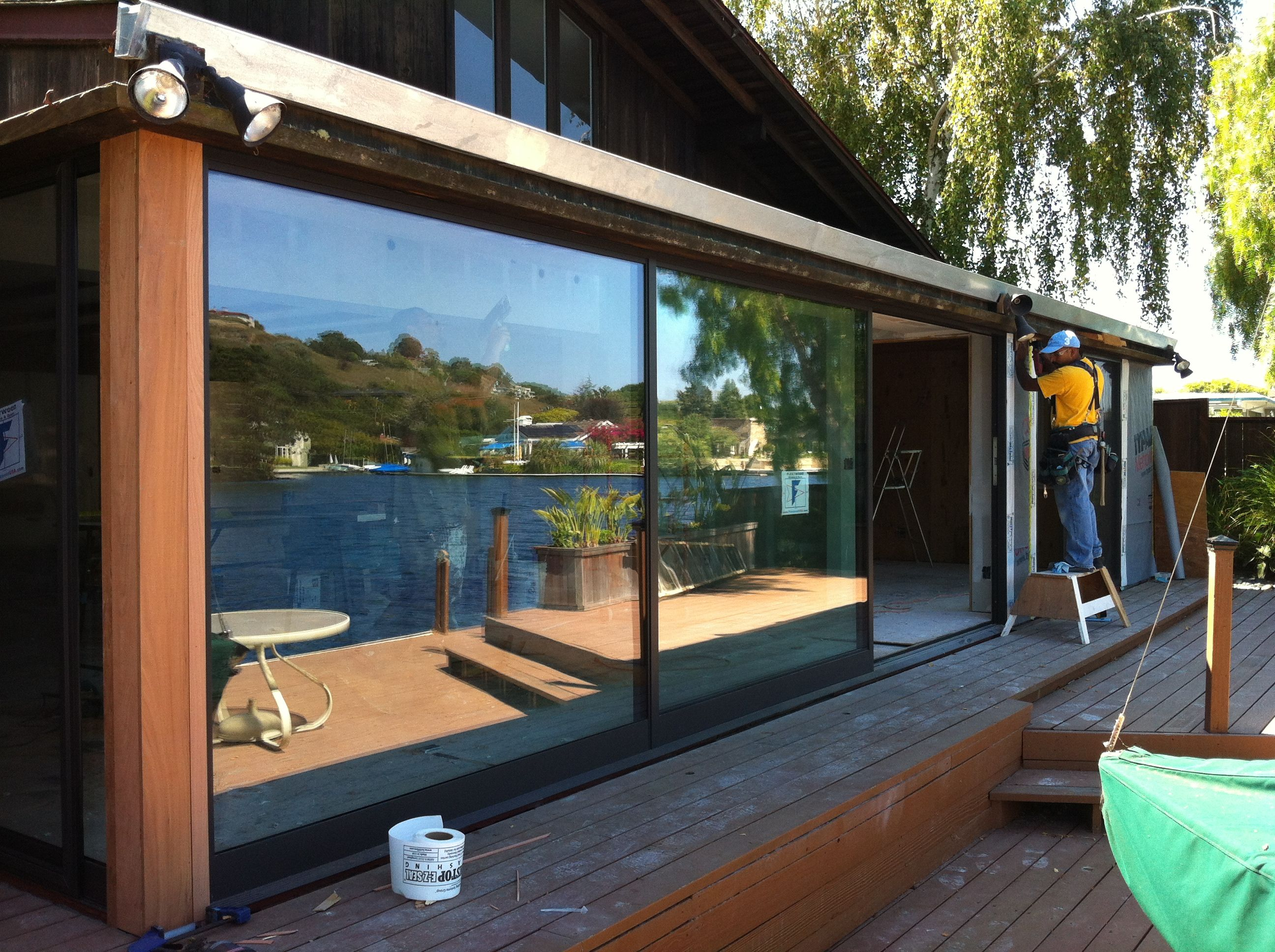 Charmant Fleetwood Windows And Doors Custom Norwood 3070 Three Panel Door System  Installed By Old Town Glass