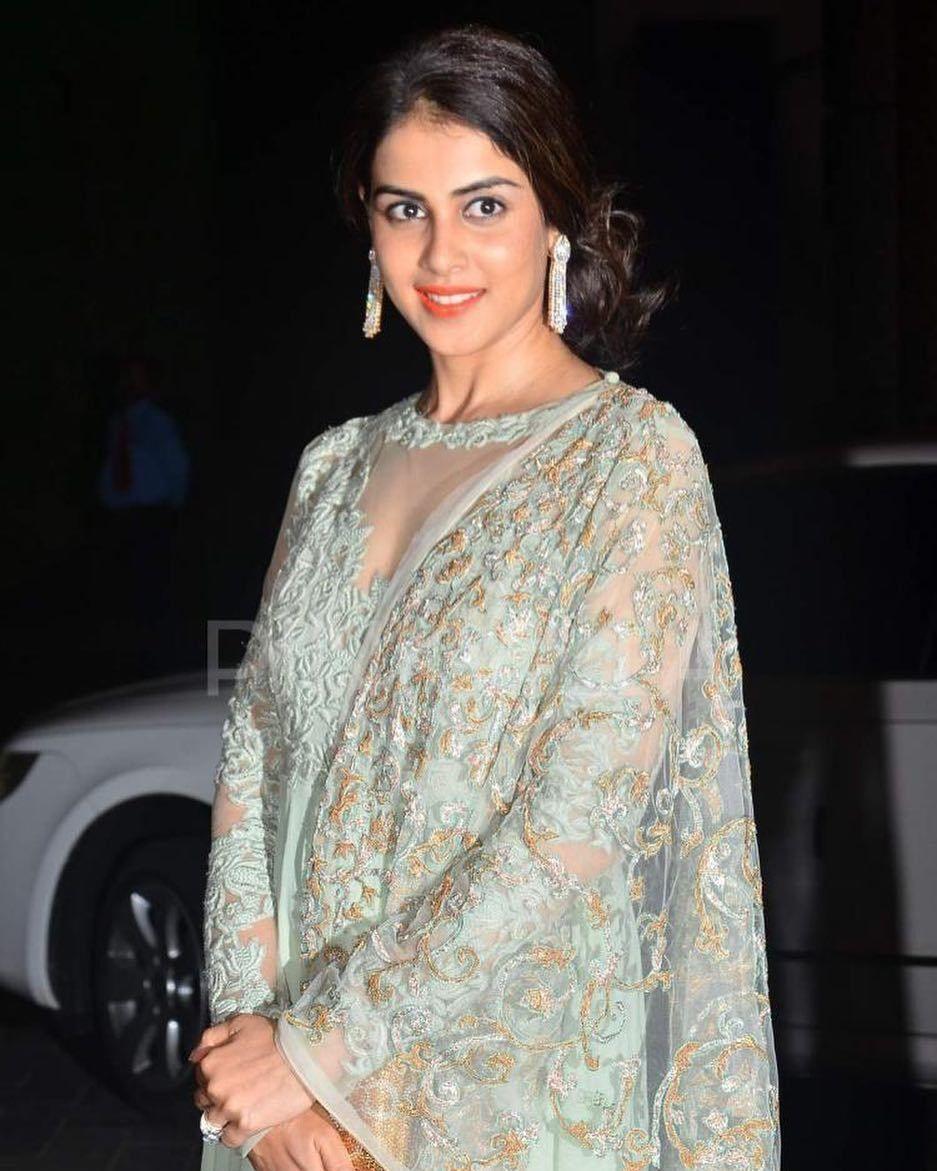 Genelia D'souza   Designer bridal lehenga choli, Shahid ...
