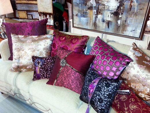 Luxury Decorative Pillows Designer Dallas