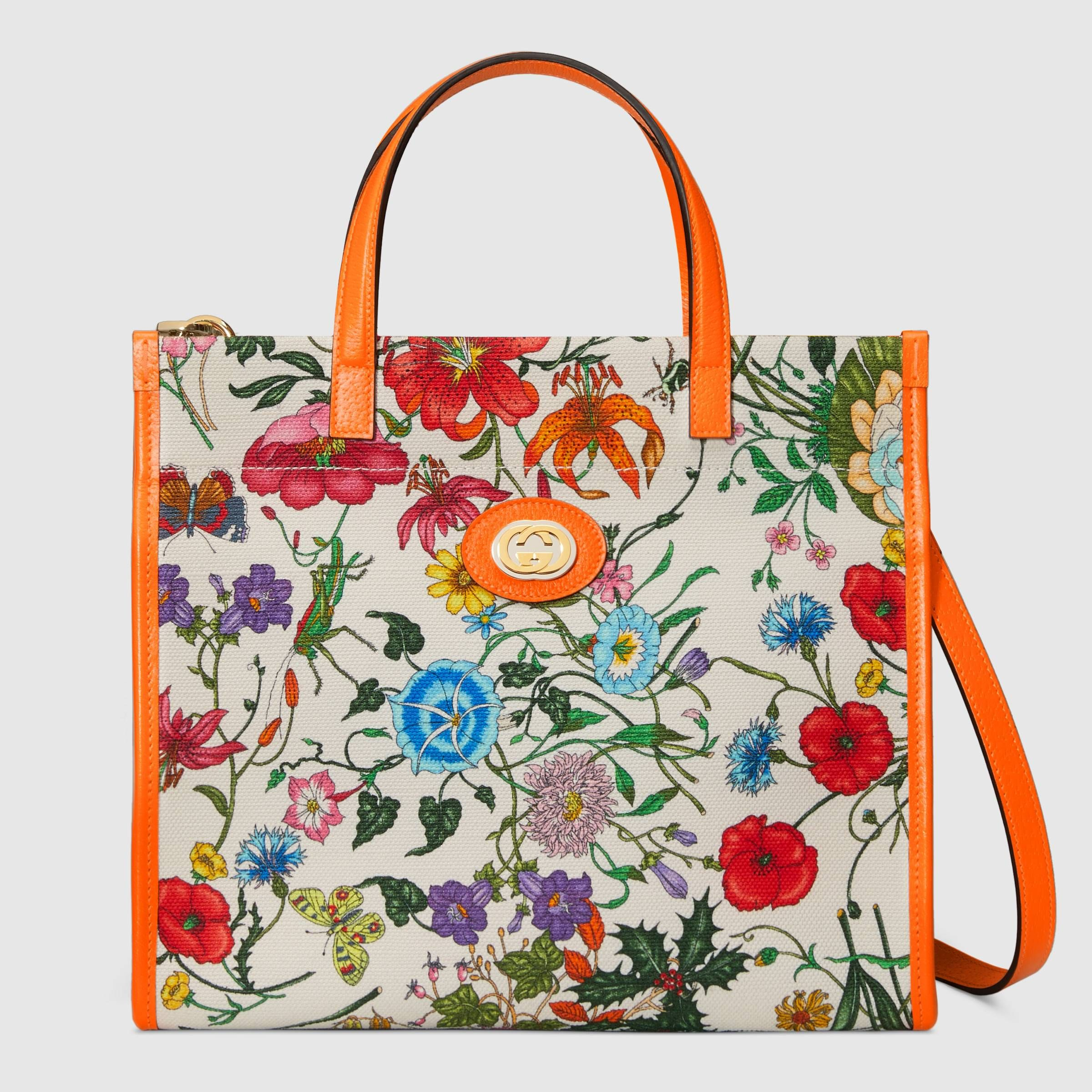 d9fc6b24e Medium Flora tote bag in 2019 | It's all about the BAG! | Bags, Tote ...