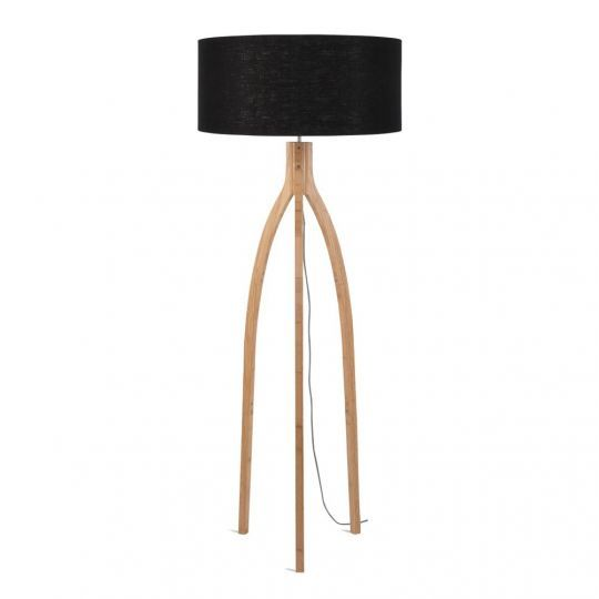 Naken interiors its about romi annapurna floor lamp black