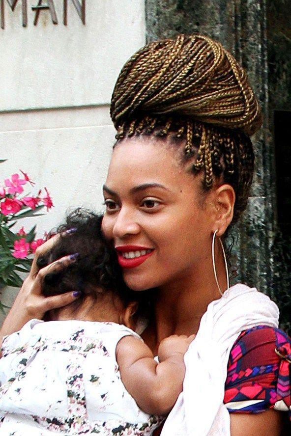 beyonce updo hairstyles kobieta