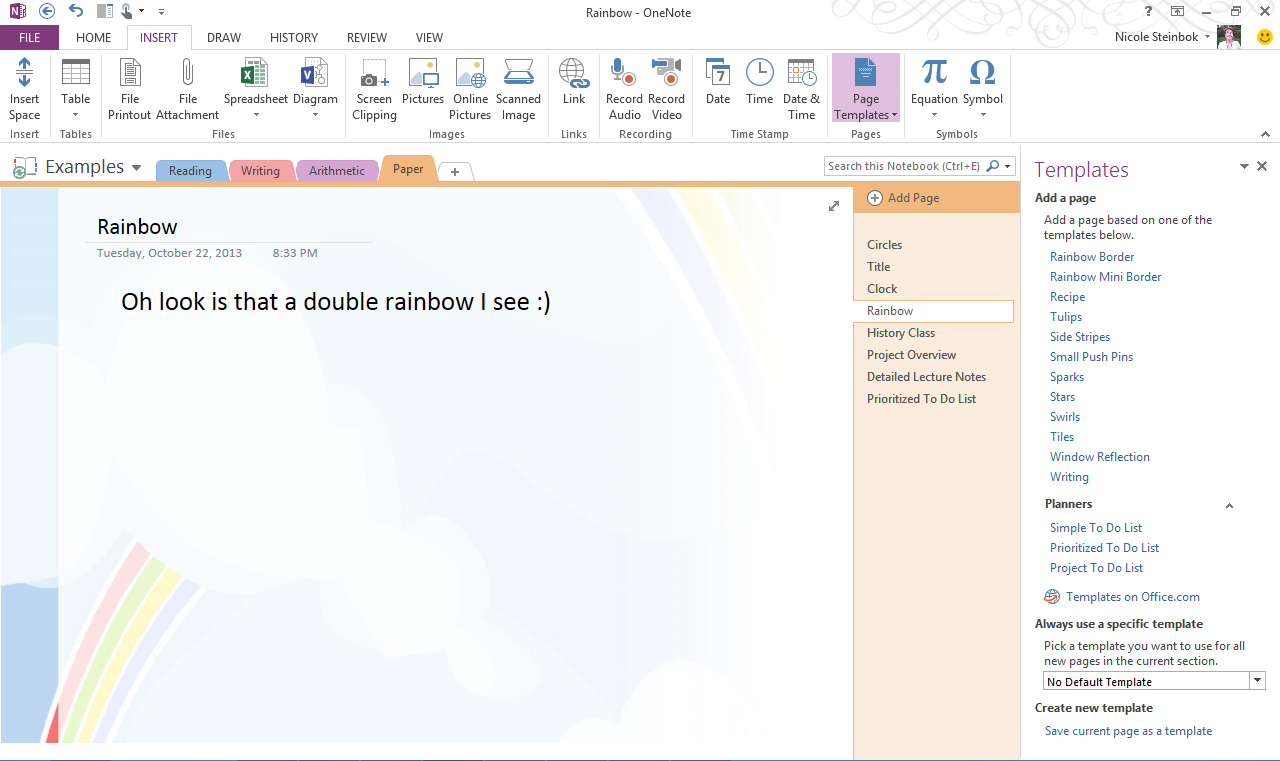 Top 10 Things You Didn T Know About Onenote Office Blogs Business Template One Note Microsoft Words