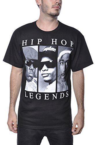 f304319c3 Biggie Smalls Tupac Eazy E Hip Hop Legends Tee Shirt XXL Apparel Zoo Basics  http:
