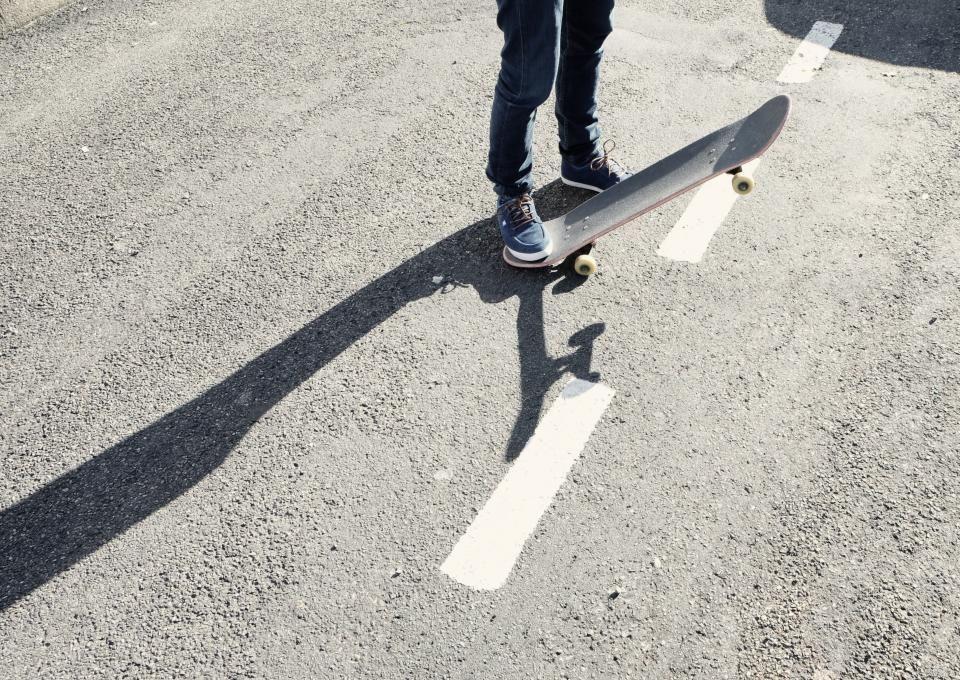 skateboard skater pavement - http://www.welovesolo.com/skateboard-skater-pavement/