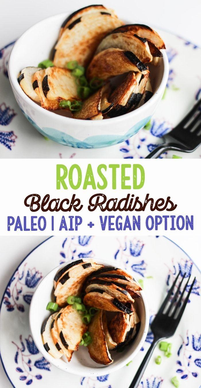 Roasted Black Radishes Paleo Aip And Vegan Friendly
