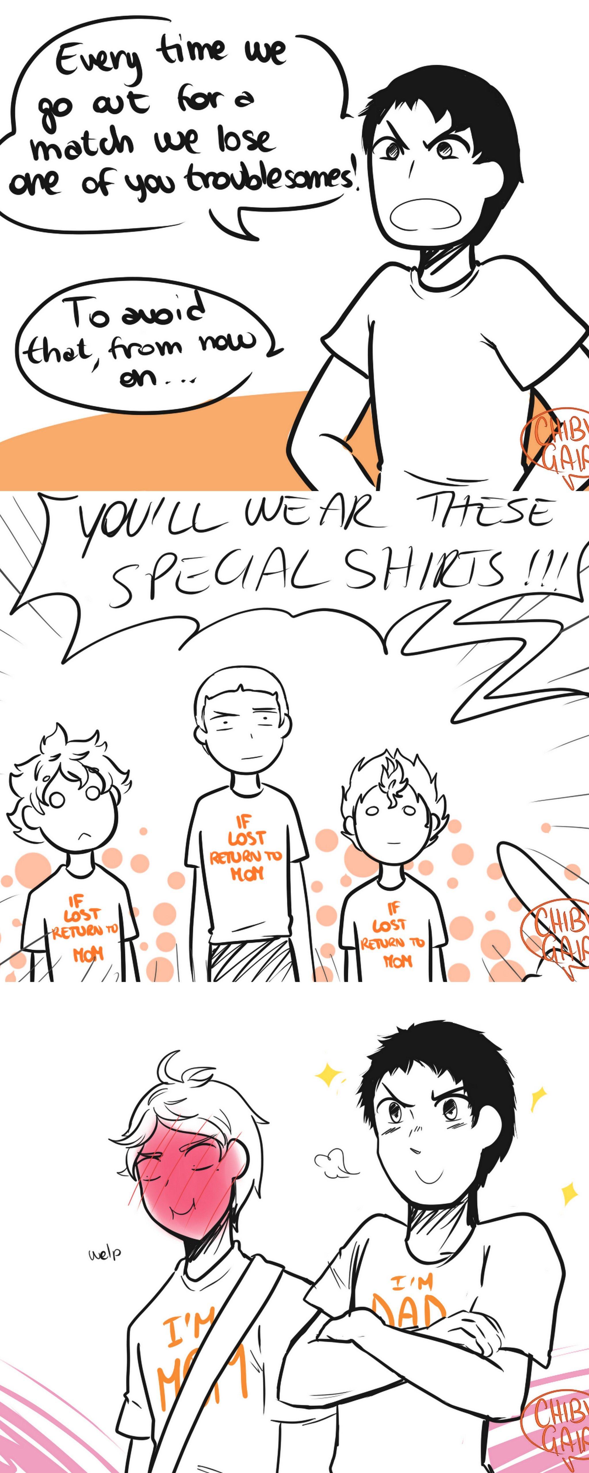 Crow family shirts #haikyuu #karasuno | Volleyball Shirts