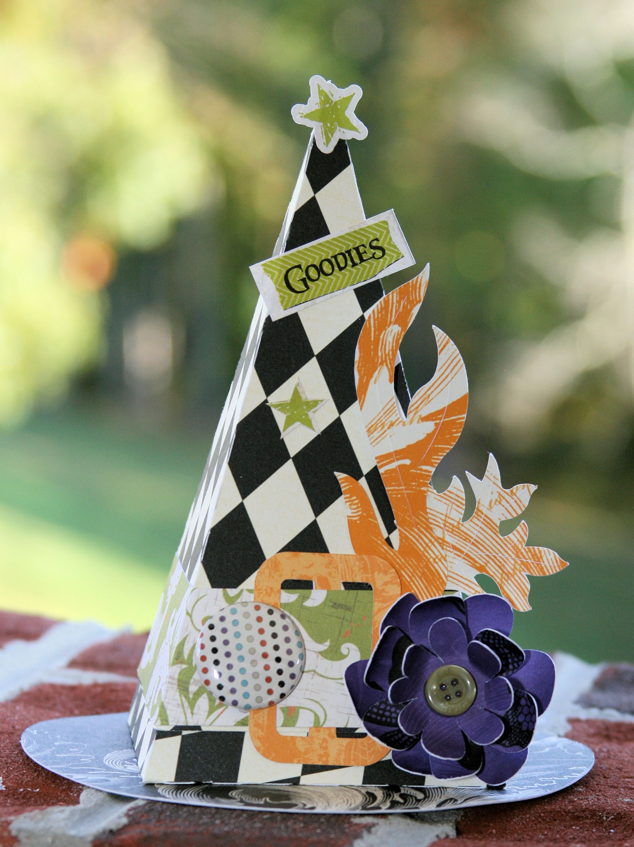 Beautiful Witch S Hat T Box By Kathy Helton