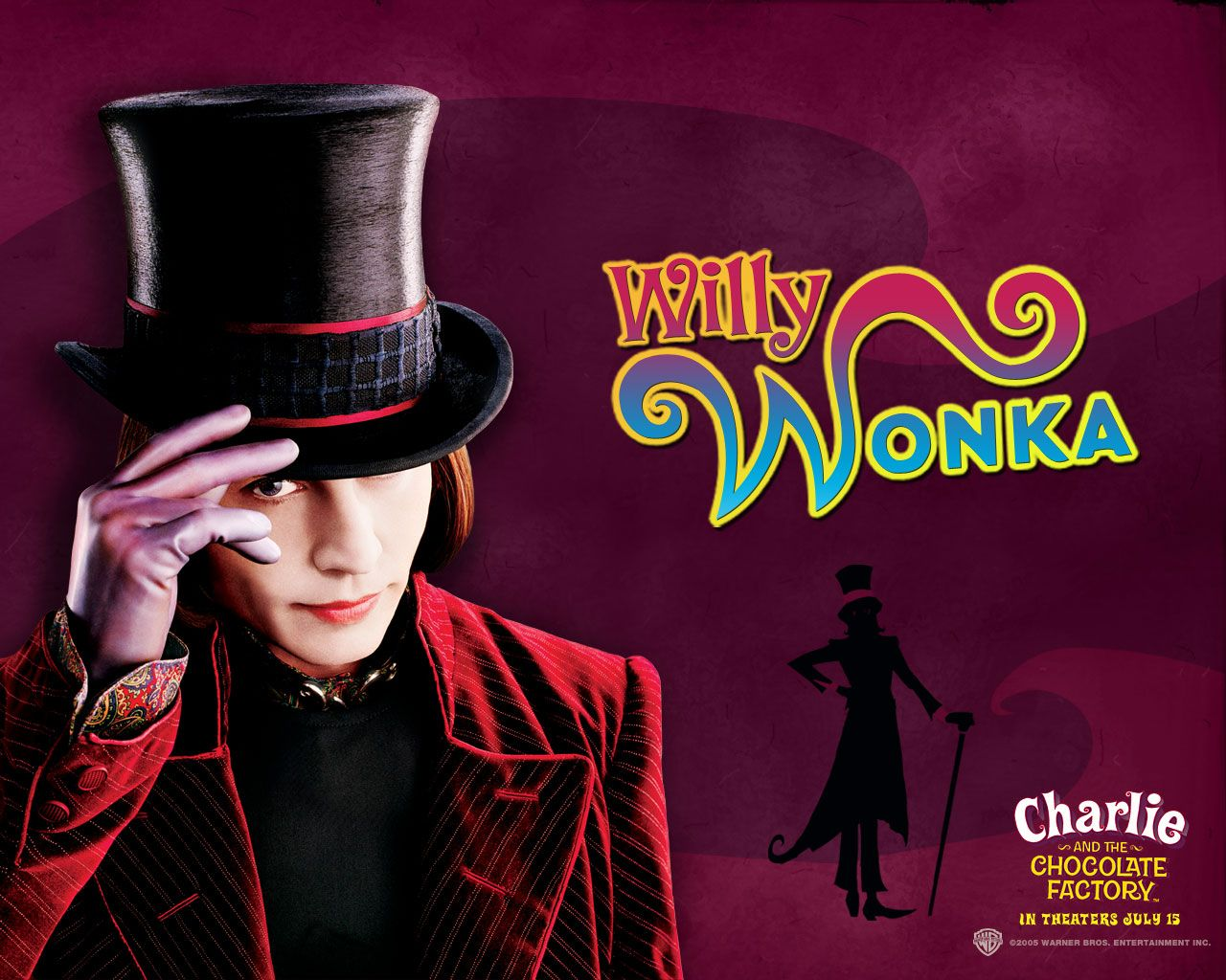 Watch Streaming HD Charlie And The Chocolate Factory, starring ...