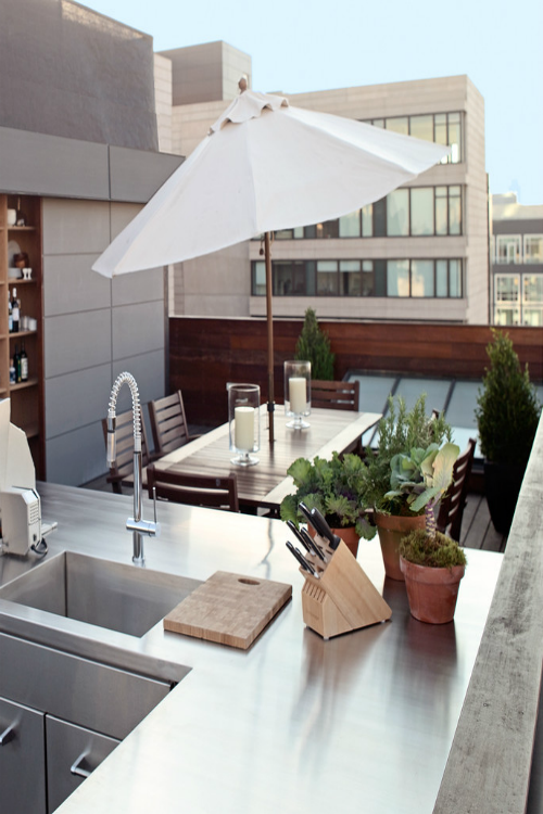 #Outdoor kitchen - Pinned onto ★ #Webinfusion>Home ★