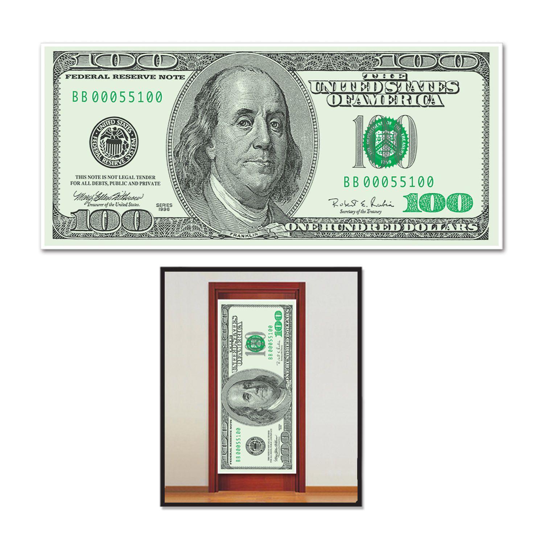 $4.95 - Casino Night Poker Vegas Party Decoration Big Bucks Money ...