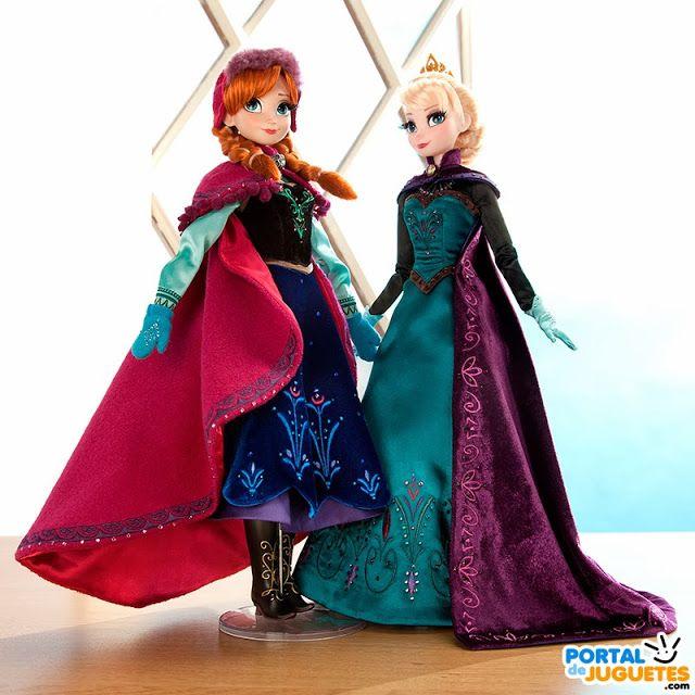 Nuevas Muñecas Elsa Y Anna Edición Limitada De Frozen Muñeca Elsa Muñecas Barbie Disney Disfraz De Elsa Frozen