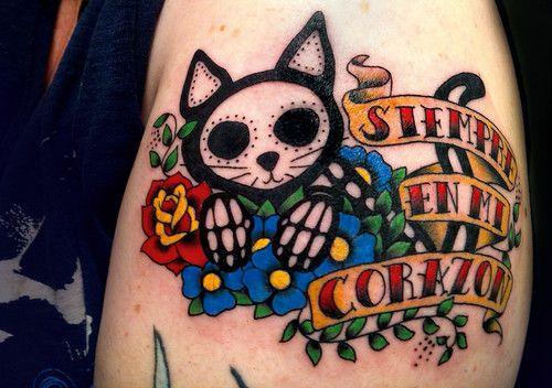 Photo of toujours dans mon coeur oui. je sais. j'ai beaucoup de tatouages. celui-ci est le nouveau …