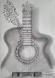 A Really Cool Guitar Design That I Drew With Images Pencil