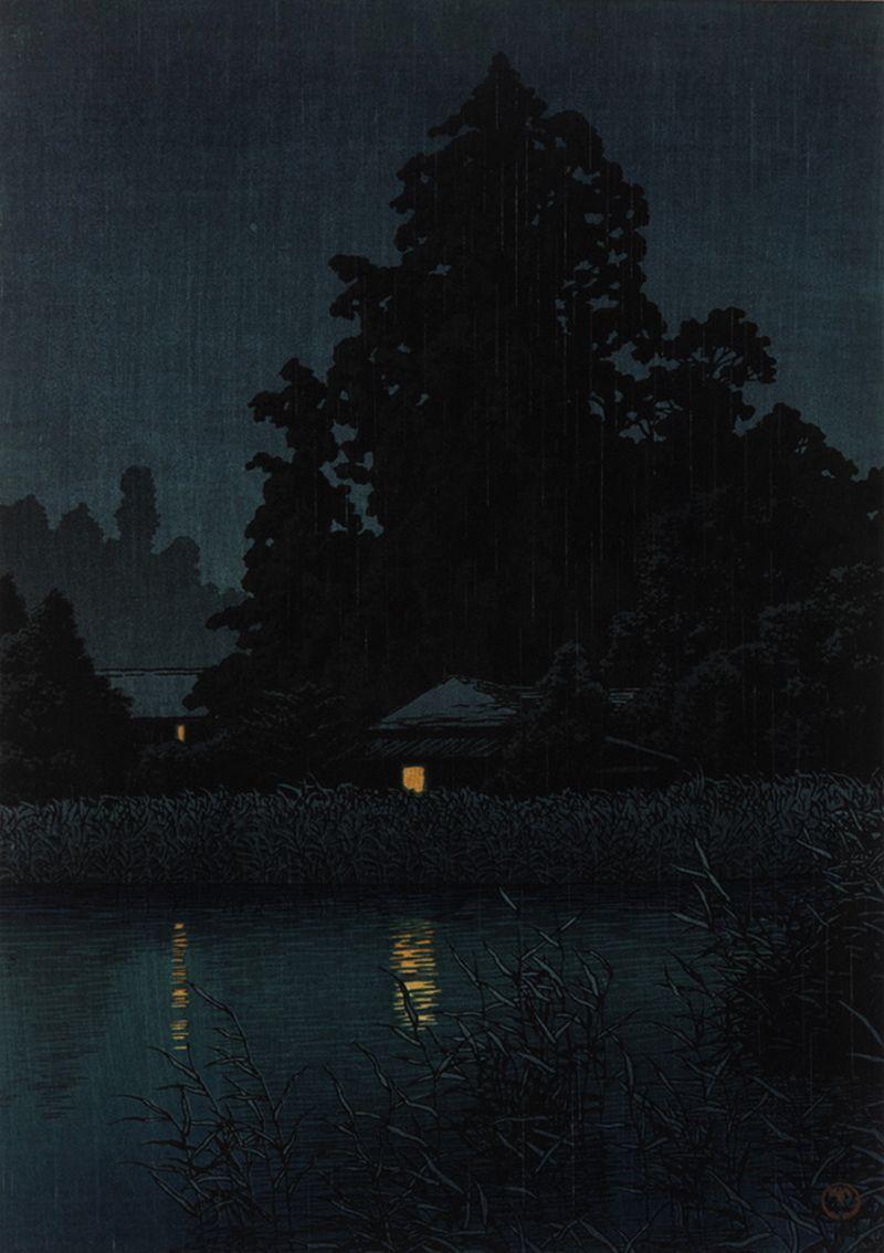 Kawase Hasui   Japanese painting, Japanese art, Japanese woodblock printing