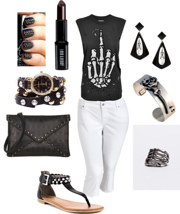 """Some Days just need the Finger"" by charlotte-lewis-williams on Polyvore"