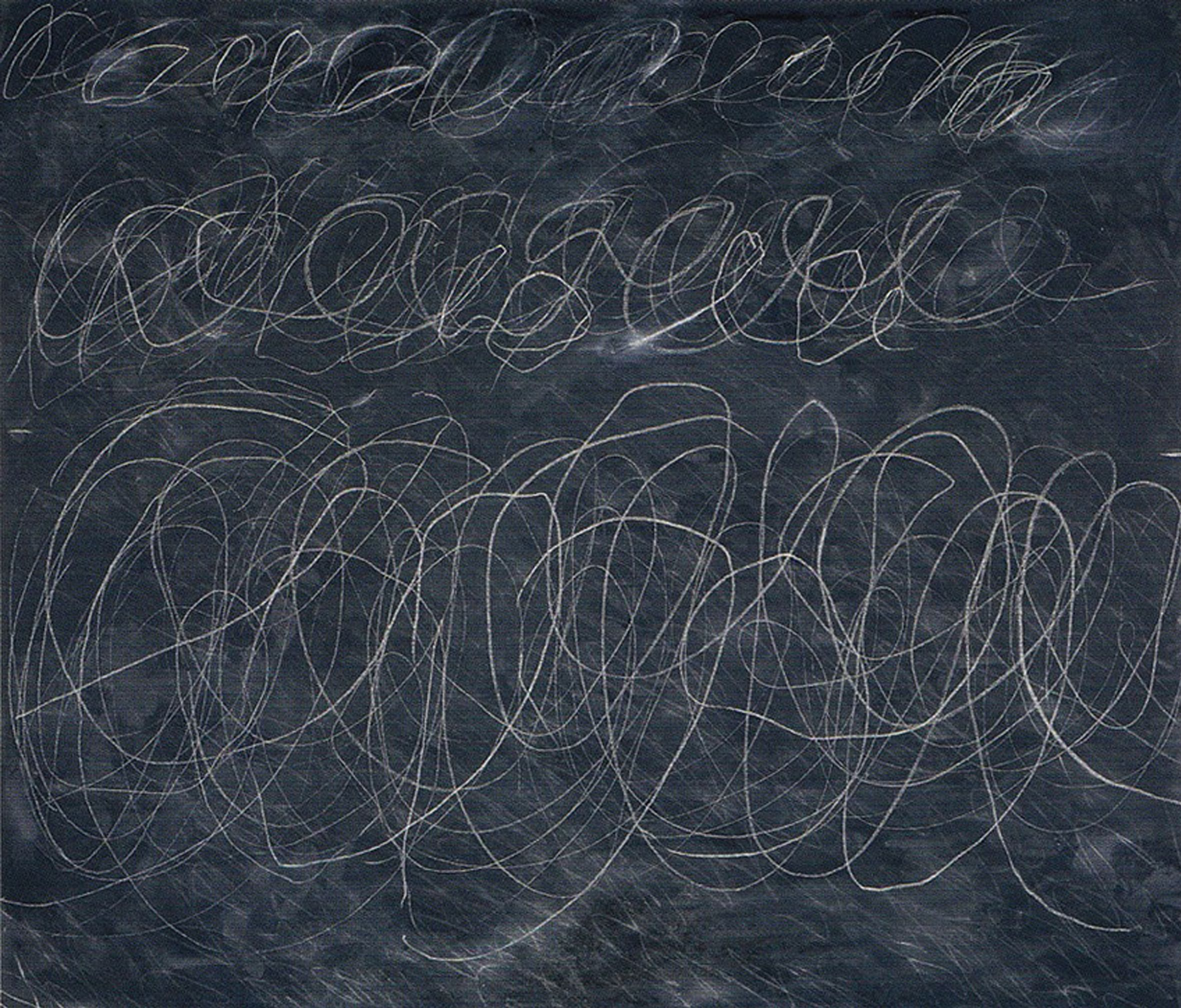 Untitled, 1970 par Cy Twombly (1928-2011)
