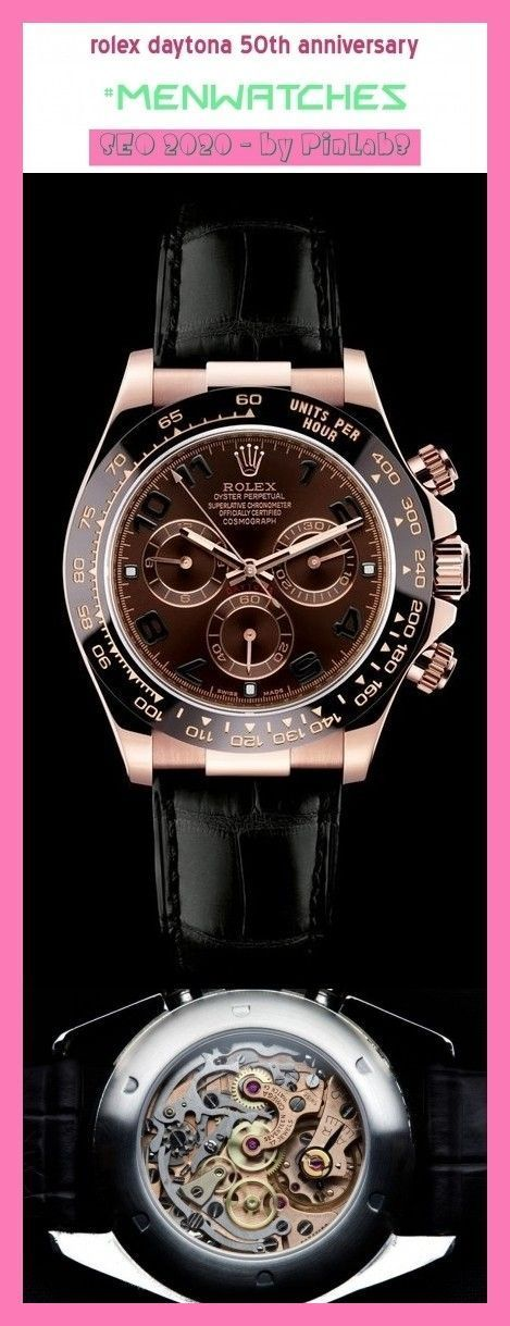 Rolex daytona 50th anniversary