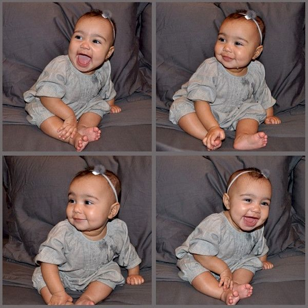 North West See All Of Her Cutest Baby Pics North West Baby Kim Kardashian And North Cute Baby Pictures