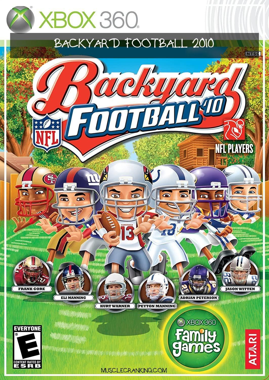 Backyard Football 2010 2021 in 2020 Wii, Football