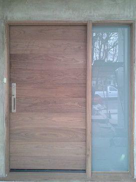 contemporary front doors | Custom Exterior Doors - modern - front ...