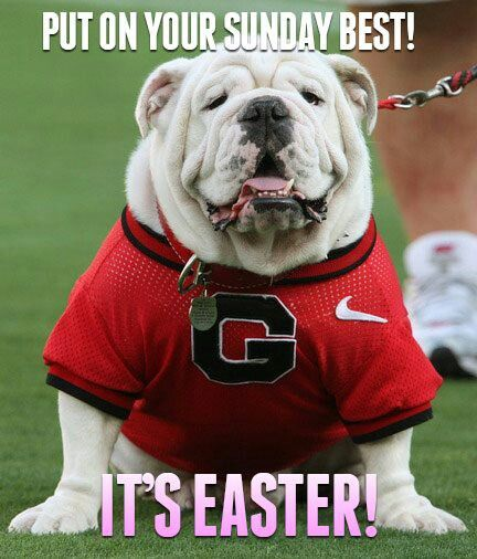 It S Easter Uga Godawgs Georgiafootball For Great Sports