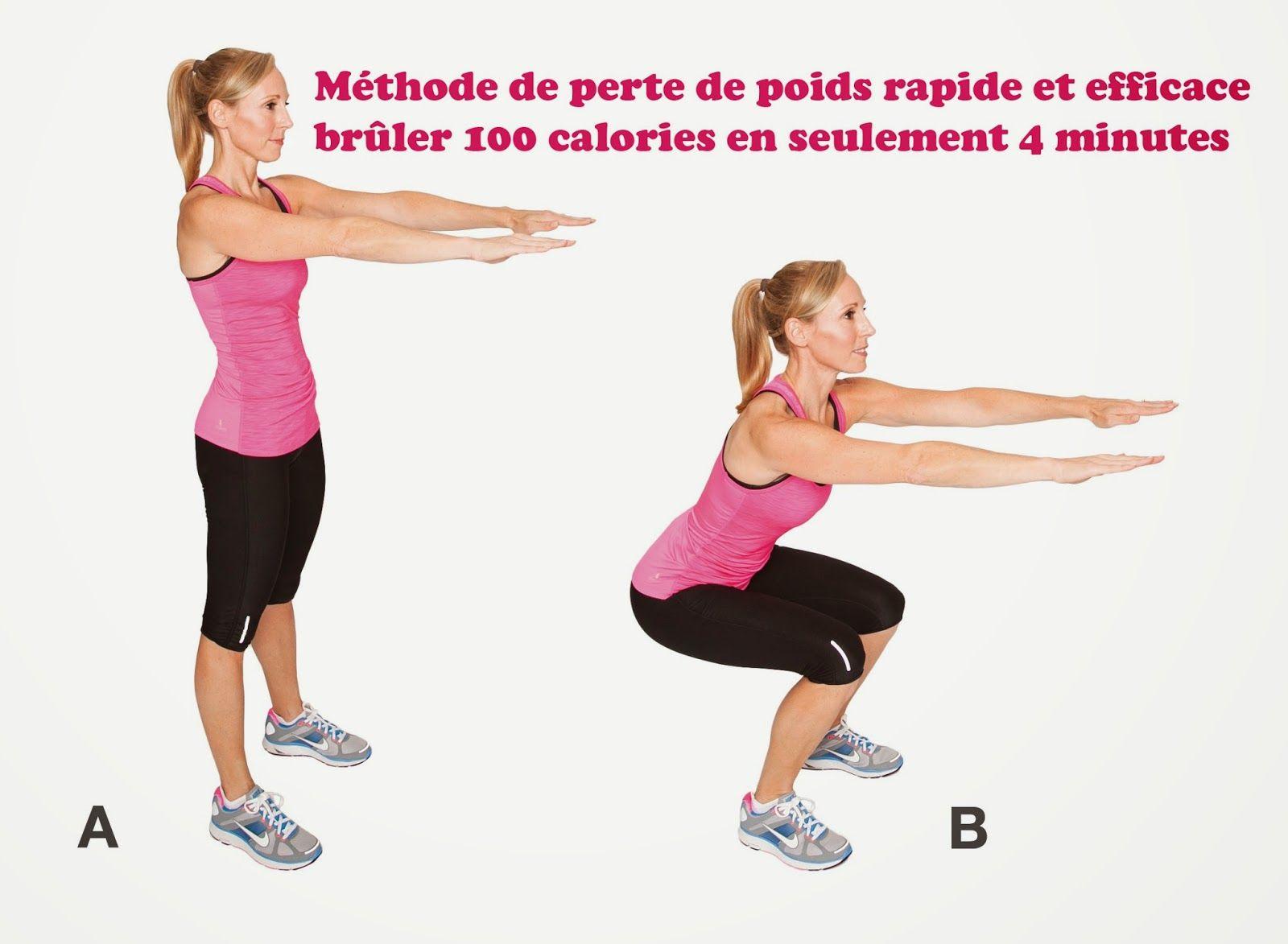 perte de poids rapide et efficace femme