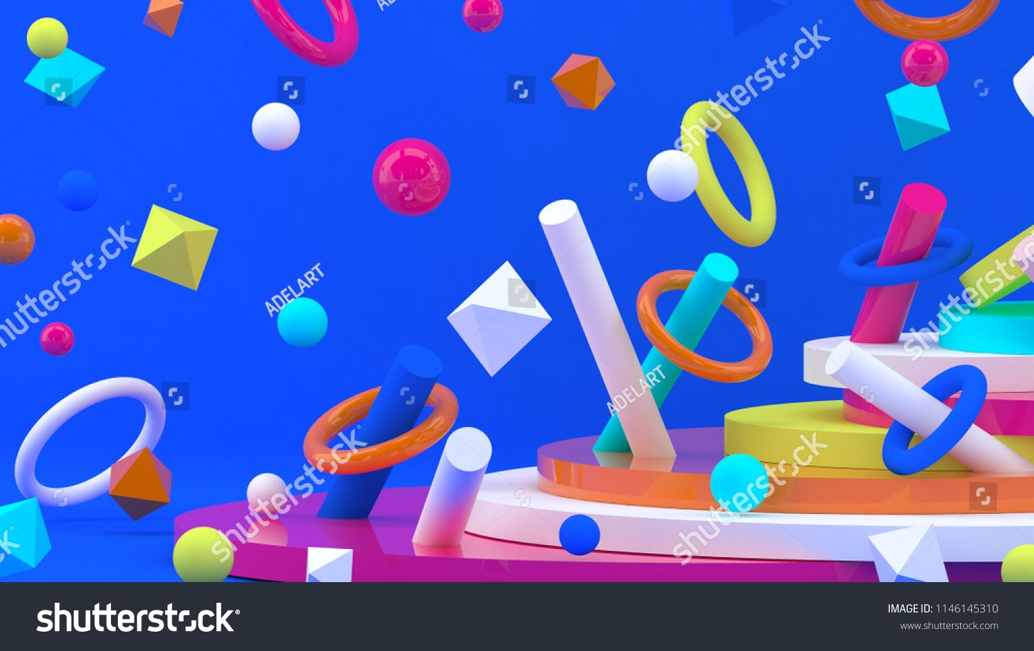 3d Background Abstract Wallpaper Flying Geometric Objects 3d Shapes Geometric Backdrop Trendy Moder Geometric Backdrop Abstract Wallpaper Modern Wallpaper