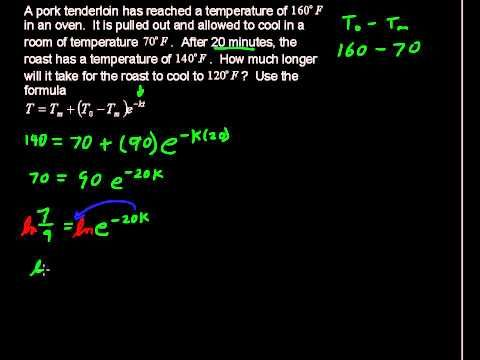 Application Of Newton S Law Of Cooling Precalculus Tips Newtons Laws Precalculus Newtons Third Law