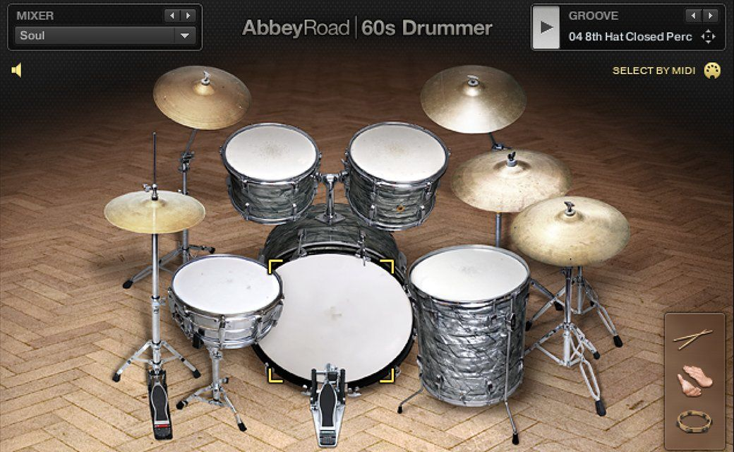 Native Instruments - Abbey Road - 60s Drummer